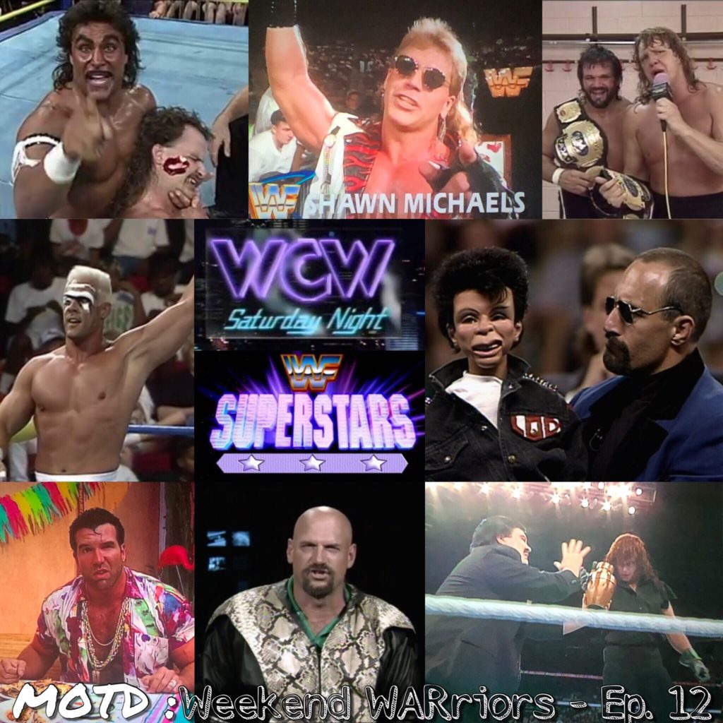 Welcome to Mark'n Out The Days : Weekend WARriors  Your hosts Coby and special guest The El from The Inept Super Villains Podcast, will take you back to the year of 1992- covering the Saturday standoff that brewed before the Monday night wars!  Join us on the magic school bus of professional wrestling podcasts as the hosting squad take a trip every Saturday morning to visit and relive WWF Superstars and WCW Saturday Night.  This episode covers the date of July 11th, 1992 with some added pop culture trivia  you can always find us on facebook and Podbean @WretroMania  follow us on twitter @WretroManiaPod  or write to us @ WretroManiaPodcast@gmail.com  we're also part of MoleHoleRadio.com  you can find Dave over on  soundcloud.com and facebook @Kick'n Out at 2  follow on twitter @Kicknout2