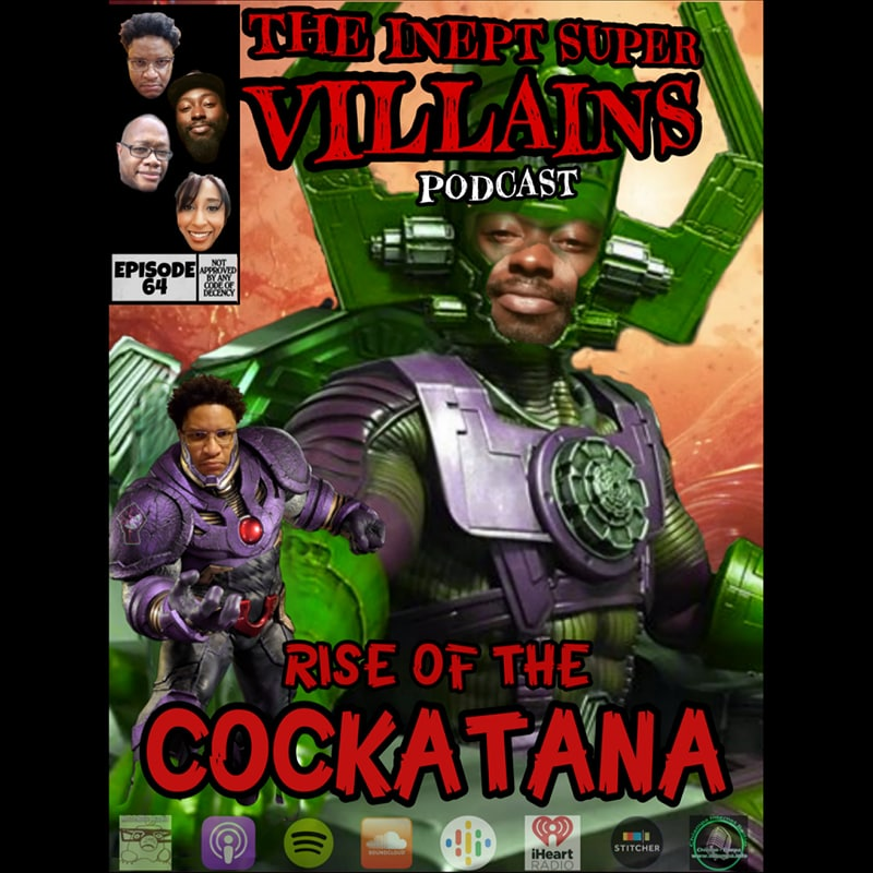 The original Villains, Maje and The El, talk about the (then) breaking news on Kobe Bryant and a wild week in in the presidential race. Speaking of race; Black people and the police are clashing, again, and a rooster shows how he a'in't gonna die.